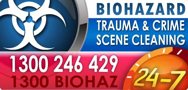 Biohazard Cleaning Technicians