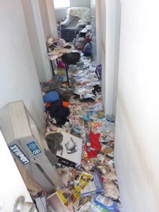 Hoarding Rubbish